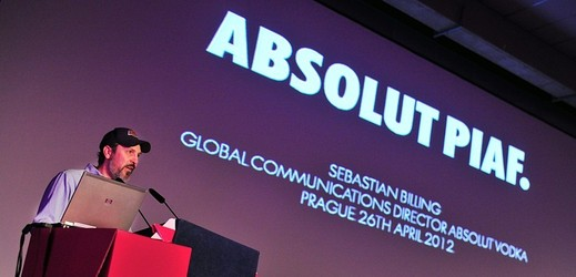 Sebastian Billing, Absolut Vodka.