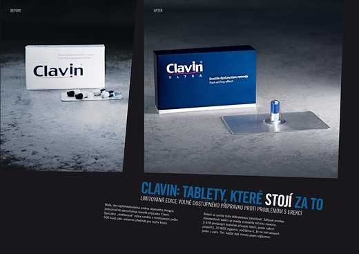 Clavin Erection.