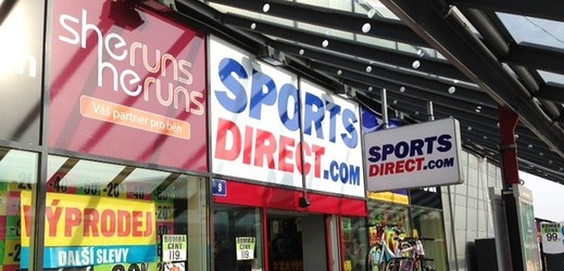 Sports Direct Karlovy Vary.