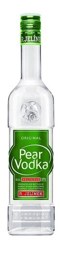 Pear vodka.