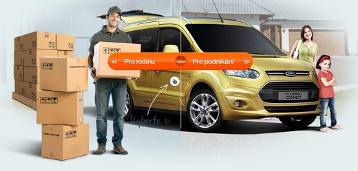 Microsite od Wunderman pro Ford Connect.