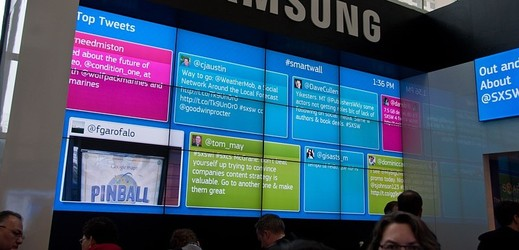 Samsung Smart Wall.
