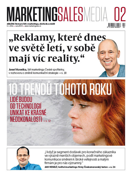 MarketingSalesMedia č. 2/2014.