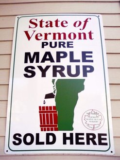 Vermont Maple syrup.