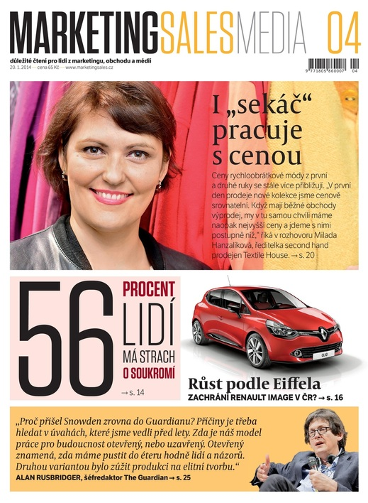 MarketingSalesMedia č. 4/2014.