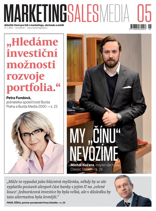 MarketingSalesMedia č. 5/2014.