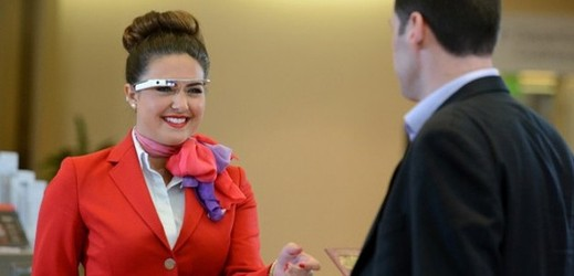 Google Glass v podání Virgin Airlines