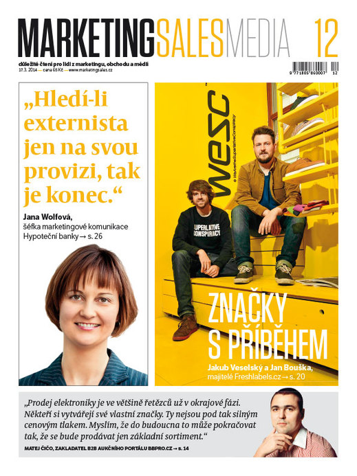 MarketingSalesMedia č. 12/2014.