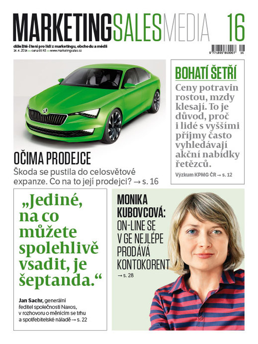 MarketingSalesMedia č. 16/2014.