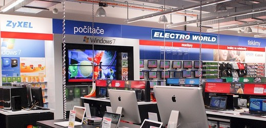 Prodejna Electro World