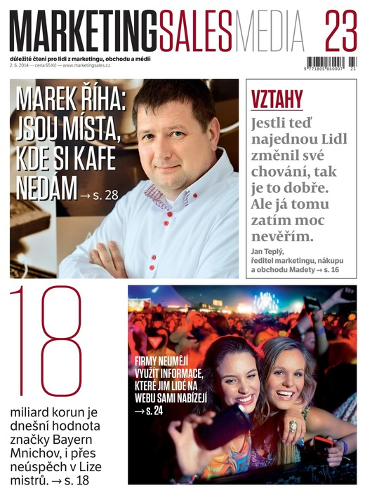 MarketingSalesMedia č. 23/2014.