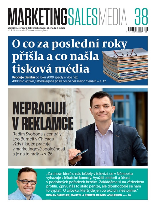 MarketingSalesMedia č. 38/2014.