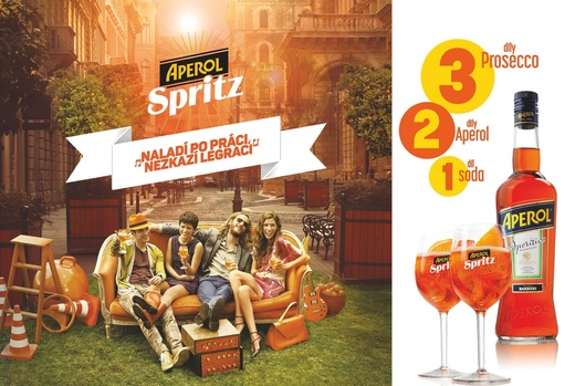 Aperol TV vizuál.