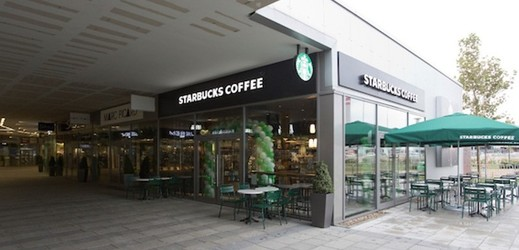 Starbucks u Fashion Areny.